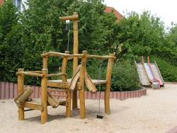 Spielplatz Plötzkauer Ring - Sandbaustelle