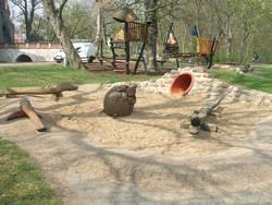 Spielplatz Schlosspark - Sandspielbereich