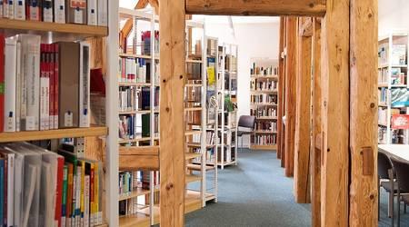 Stadtbibliothek - Obergeschoss [(c) Anja Kahlmeyer]