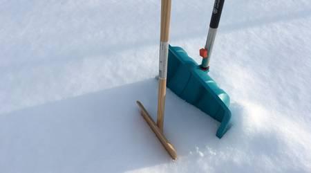 Schneeschieber