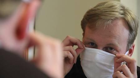 Ab Donnerstag müssen in Sachsen-Anhalt Masken angelegt werden.
