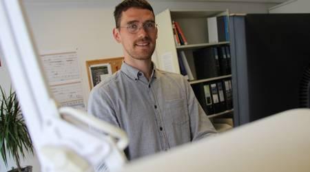 Nils Kantert ist der neue Ansprechpartner in der Stadtverwaltung zum Thema Klimaschutz und Energieeffizienz.