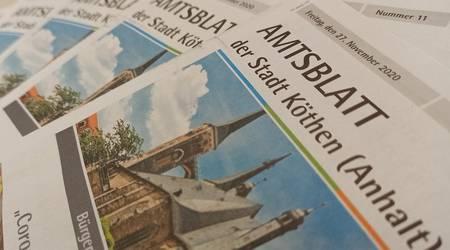 Das Amtsblatt der Stadt erscheint gedruckt und digital.