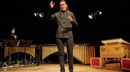 Tenor Benedikt Kristjànsson aus island ist zum Bachgeburtstag zu Gast.