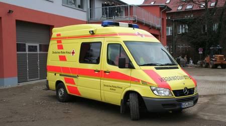 Das neue Domizil der Rettungswache am Krankenhaus Köthen.