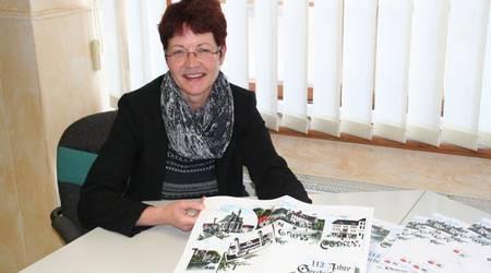 Die Leiterin des Köthener Stadtarchivs, Monika Knof, stellte die Broschüre
