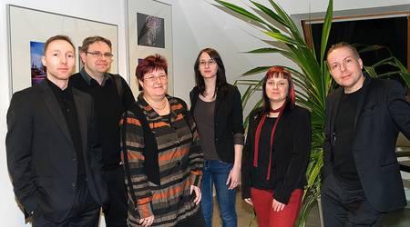 Die Köthener Fotofreunde (v.l.) Dirk Krause, Sascha Perten, Heike Thes, Heike Krostitz, Anja Steinbiß und Christian Ratzel.