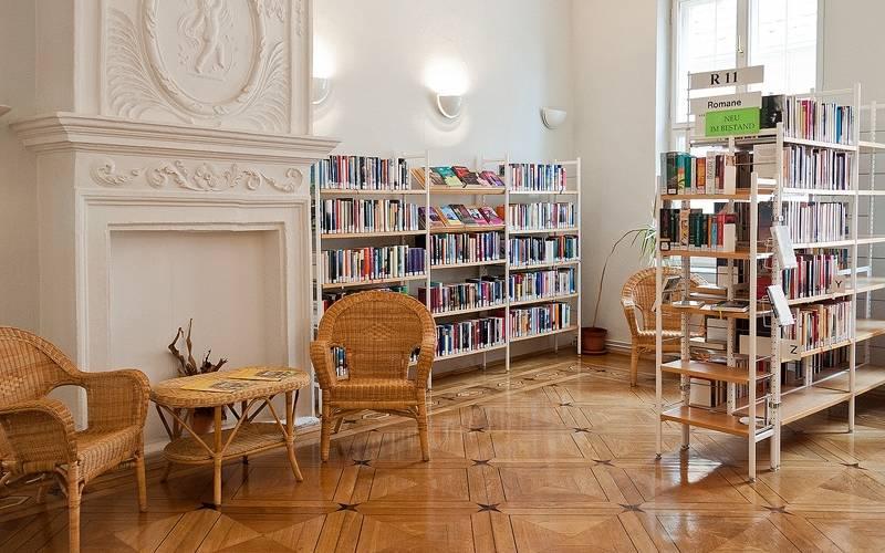 Stadtbibliothek - Kaminzimmer [(c) Anja Kahlmeyer]