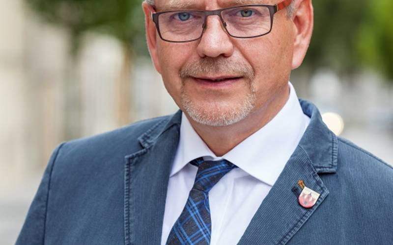 Oberbürgermeister Bernd Hauschild